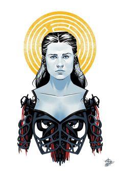 Dolores fanart by Renaud Roche : westworld