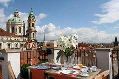 aria hotel Prague breakfast
