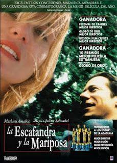 LA ESCAFANDRA Y LA MARIPOSA, de Julian Schnabel.