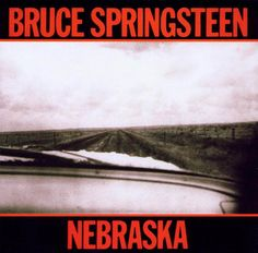 A great poster of the album cover art from Bruce Springsteen's sparsely beautiful 1982 LP Nebraska! Check out the rest of our amazing selection of Bruce Springsteen posters! Need Poster Mounts. Bruce Springsteen Albums, Top 100 Albums, Great Albums, Elvis Presley, Columbia, My Father's House, The Rolling Stones, Porto, Album Covers