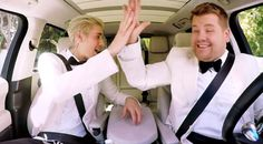 Justin Bieber joins James Corden for pre-Grammys Carpool Karaoke...: Justin Bieber joins James Corden for pre-Grammys Carpool Karaoke…