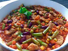 Schab po meksykańsku Bbq Grill, Grilling, Kung Pao Chicken, Chili, Recipies, Blog, Dinner, Ethnic Recipes, Essen