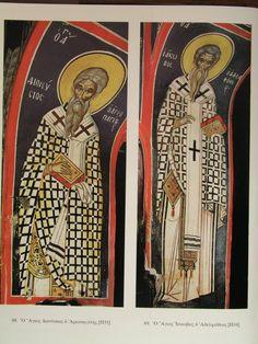 Byzantine, Ikon, Fresco, Saints, Baseball Cards, Art, Art Background, Fresh, Kunst