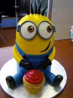 #minion #cake | Sweet Treets Bakery