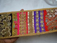 Lace Trims – Sari Border Indian Patchwork Decorative laces  – a unique product by indianlacesandfabric on DaWanda   You can purchase from below link or What's App no. is +91-9999684477. We also take wholesale inquiries  https://en.dawanda.com/product/121435915-sari-border-indian-patchwork-decorative-laces