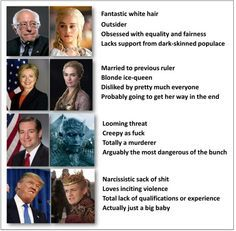 I don't watch Game of Thrones but this is pretty funny.