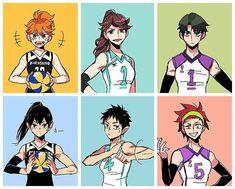 Haikyuu Genderbend, Haikyuu Karasuno, Haikyuu Funny, Haikyuu Fanart, Haikyuu Anime, Hinata, Maid Sama Manga, Anime Girl Pink, Haikyuu Volleyball