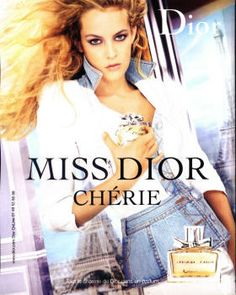 Miss Dior Chérie by Christian Dior with Riley Keough (2006).
