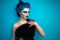 Love the idea of being Hades for Halloween