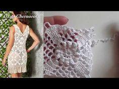 Квадратный мотив крючком. Соединение квадратных мотивов // Crochet motif - YouTube