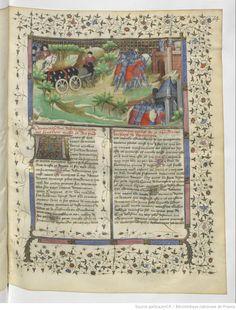 Funeral cortège of John III, duke of Brittany (1341) Boethius Master, Paris, BnF, ms. fr. 2663, fol. 74 [Froissart]