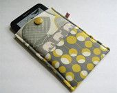 I love the handmade kindle covers on this website. This is one of my favourites.