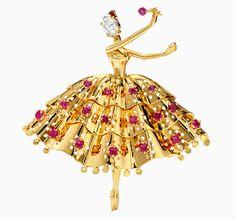 Драгоценный балет: выставка культовых брошей Van Cleef & Arpels