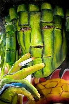 face painting..