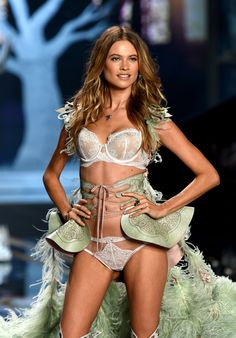 Behati Prinsloo - Runway shows: 2007-present Angel contract: 2009-present  As the resident rock chick of Victoria's Secret, Behati Prinsloo occupies a special place within the roster. More likely to don a band T-shirt than a gown, Prinsloo brings a carefree energy to one of the most produced shows in existence, and proves to be a perennial fan favorite. Right at home in oversize Angel wings and little else, Prinsloo was upgraded to Angel after an extended stint as the face of Pink.
