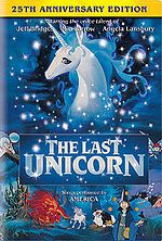 """The Last Unicorn (1982 film)  (""""The film is based on the novel of the same name written by Peter S. Beagle, who also wrote the film's screenplay."""")"""