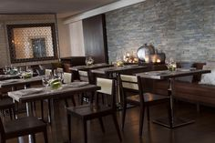 La Veranda features Mediterranean and international cuisine.