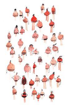 marion barraud, french illustrator/
