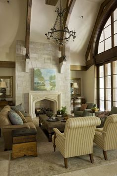 English Country - Harrison Design Harrison Design, Walnut Kitchen, Kitchen Cabinetry, Large Windows, English, Country, Architecture, Interior, Ranch Homes