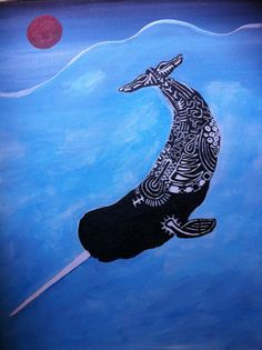 narwhal with white tattoos 2011