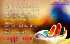 Holi Picture Quote Wishes http://www.festivals123.com/2016/03/latest-holi-images-greetings.html