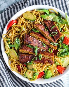 Easy Baked Seitan (vegan & high protein) – Plant Based RD Veg Recipes, Vegetarian Recipes, Seitan Recipes, Vegan Meals, Vegan Food, Easy Healthy Dinners, Healthy Dinner Recipes, Vegan Barbecue, Bbq