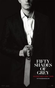 Tie optional. | Fifty Shades of Grey | In Theaters Valentine's Day 2015