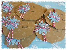 Christmas Tags by housesbuiltofcards - Cards and Paper Crafts at Splitcoaststampers