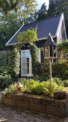 Weekender, B & B, Tiny House, Dutch, Travelling, Shed, Europe, Outdoor Structures, Cabin