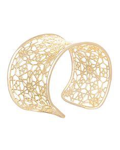 Azlyn Cuff Bracelet in Gold - Kendra Scott Jewelry. Coming October 15!