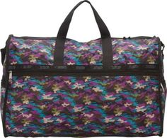 LeSportsac Extra Large Weekender Travel Duffel Bag Contempo Camo - via eBags.com!