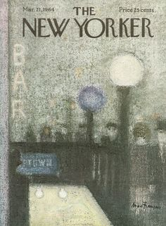 The New Yorker - Saturday, March 21, 1964 - Issue # 2040 - Vol. 40 - N° 5 - Cover by : André François