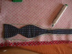 how to make a bow tie Make A Bow Tie, Bowtie Pattern, Bowties, Projects To Try, Make Up, Craft Ideas, Crafty, Patterns, Guys