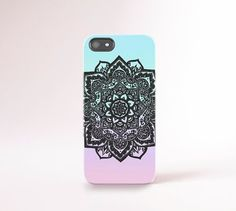 Summer iPhone 6 Case Mandala iPhone 5 Case Summer by casesbycsera