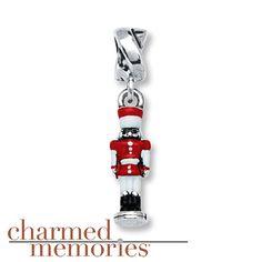 Charmed Memories Nutcracker Charm Sterling Silver