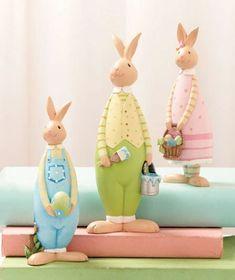 Bunny Figurine Set