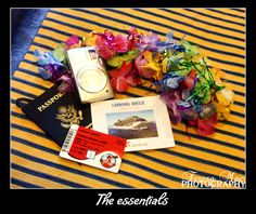 Travel essentials Carnival Breeze, Travel Essentials, Gift Wrapping, Gifts, Photography, Food, Paper Wrapping, Presents, Fotografie