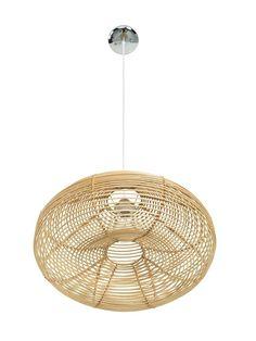 Palau Continuous Weave Discus Wicker Pendant Lamp, Natural Wicker Pendant Light, Lantern Pendant, Pendant Lamp, Pendant Lighting, Dining Lighting, Light Pendant, Compact Fluorescent Bulbs, Ceiling Installation, Incandescent Light Bulb