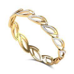 Amaryllis Diamond Bangle DJBB5089 Hand Jewelry, Jewelry Sets, Diamond Bangle, Diamond Jewelry, Bangle Set, Bangle Bracelets, Gold Bangles Design, Designer Bangles, Jewelry Design Earrings