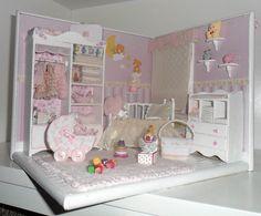 Échelle de roombox 1/12 miniature HABITACIÓN DE par LasMInisdeMaini