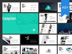 KASPIAN Keynote Presentation + BONUS by GoaShape on @creativemarket