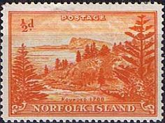 Norfolk Island 1947 Ball Bay Fine Mint SG Scott 1 Other European and British Commonwealth Stamps HERE!