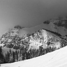 Magic light in the mountains today... And a fantastic day of skiing too. #jacksonhole #jh50 #tetons #skiing #tramlaps #dynastarskis #outdoorresearch #mountainathlete #lifewithoutwalls #blackandwhite #mountainmagic #SheAdventures by skidiva