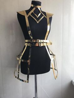 Lingerie harness physique harness attractive dance costumes attractive lingerie pageant carrying collectively for dance photoshoot bdsm Costume Original, High Fashion, Womens Fashion, Fashion Goth, Steampunk Fashion, Fashion Models, Character Outfits, Festival Wear, Festival Outfits