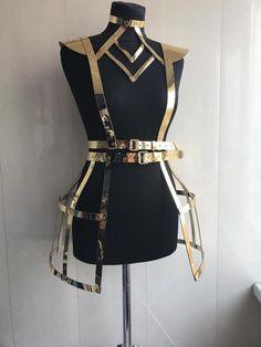 Harnais lingerie harnais de corps costumes de danse sexy | Etsy