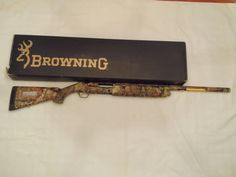 "women camo 12 gauge shotguns | ... : For Sale Browning Silver 12ga 31/2"" Camo shotgun NIB Metro Atlanta"
