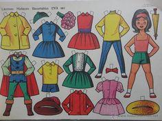 Paper Art, Paper Crafts, Gothic Fairy, Vintage Paper Dolls, Paper Toys, Album, Preschool Crafts, Paper Cutting, Doll Clothes