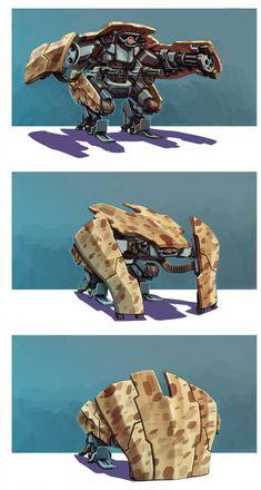 Ideas Sci Fi Concept Art Robots Fantasy For 2019 Robot Concept Art, Weapon Concept Art, Armes Concept, Gundam, Character Concept, Character Art, Fantasy Magic, Arte Robot, Futuristic Armour