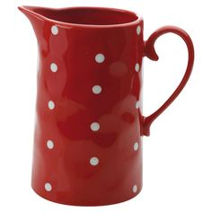 Sprinkle Jug in Red