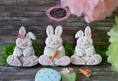 #easter bunny Cookies i made